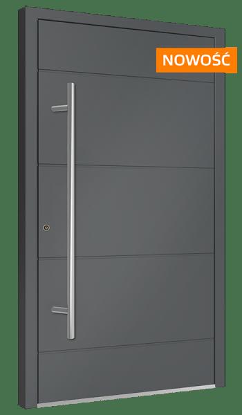 aluminiowe drzwi zewnętrzne SOLANO